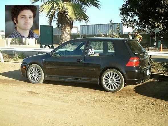 13. Co-founder of Facebook, Dustin Moskovitz, drives a Volkswagen R32.