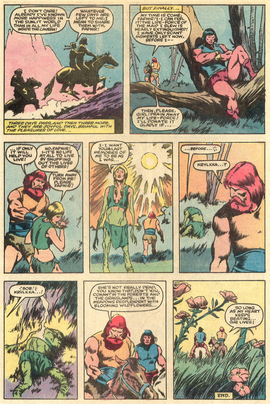Conan the Barbarian (1970) Issue #163 #175 - English 23