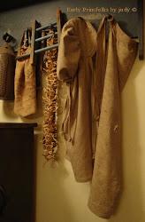 Primitive Prairie Bonnet & apron