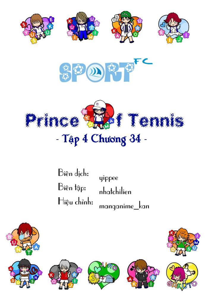 Prince of Tennis chap 34 Trang 1
