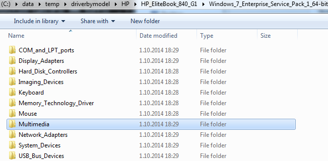 How to Extract Installed Drivers from Windows   Windows Deployment Blog