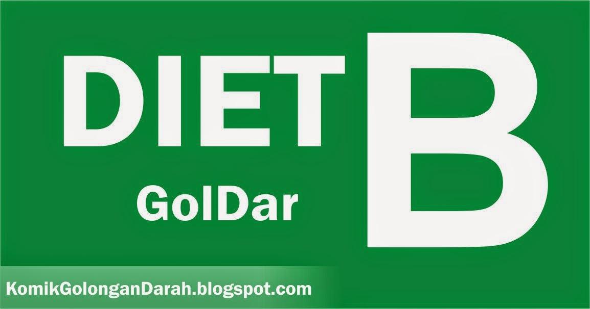 Diet Golongan Darah B - Komik Golongan Darah