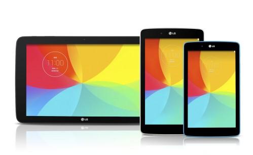 I nuovi 3 tablet di LG G Pad da 7, 8 e 10.1 pollici di diagonale