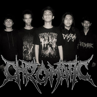 Chromatic Band Death Metal Surabaya Logo Foto Personil Wallpaper