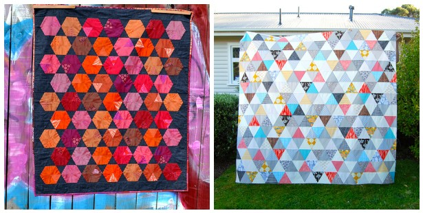 sixty degree triangle quilts