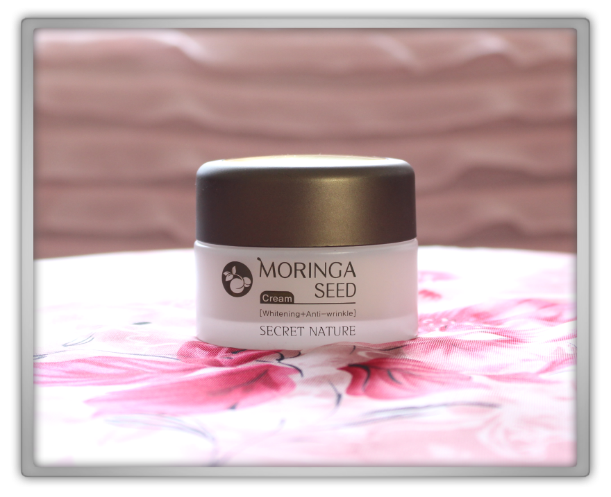 Secret Nature Moringa Seed cream products Haul Review preview honest pink korean cosmetics skincare asian rilakkuma flowers memebox jolse