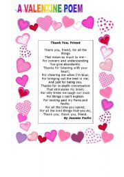 Valentine day poems for her
