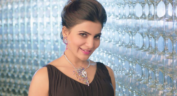 Samantha Latest HD Photo Shoot for Jewellery ads