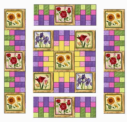 piecing quilt