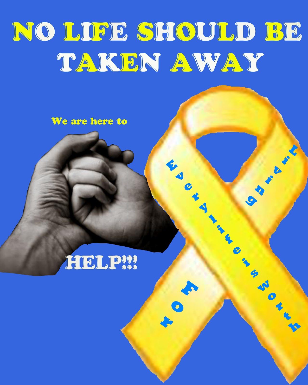 Maria Aguilera: Suicide Prevention Poster