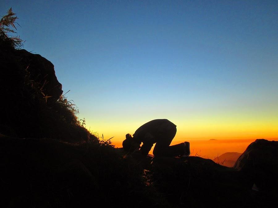 Gunung Sikunir Dieng Wonosobo Jawa Tengah