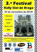 10.ª Prova do Campeonato Regional de Rally Slot 2018