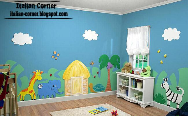 Italian Kids Room Themes Paints Ideas 2013