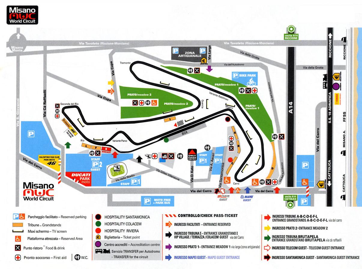 Circuito San Marino : Vacanze business eventi nella rep di san marino campionato