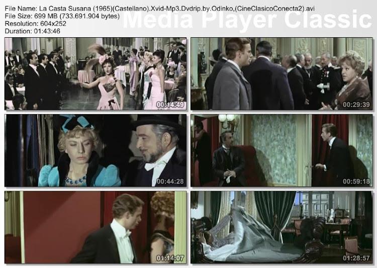 La casta Susana 1963 | Marujita Diaz - Cine clásico español