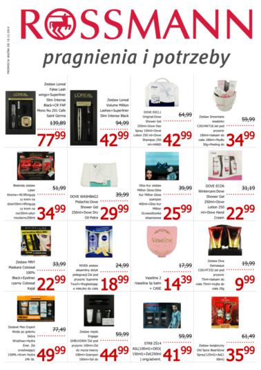 Nowa gazetka promocyjna - Rossmann