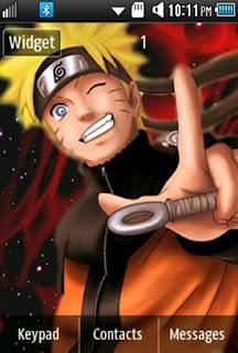 Anime Naruto Samsung Corby 2 Theme Wallpaper