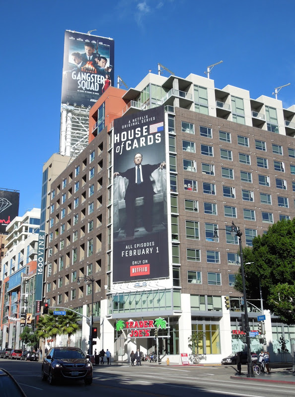 House of Cards Netflix billboard