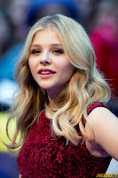 Chloe Grace Moretz Dark Shadows UK Premiere London