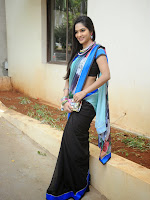 Madhumitha latest dazzling photos in saree-cover-photo
