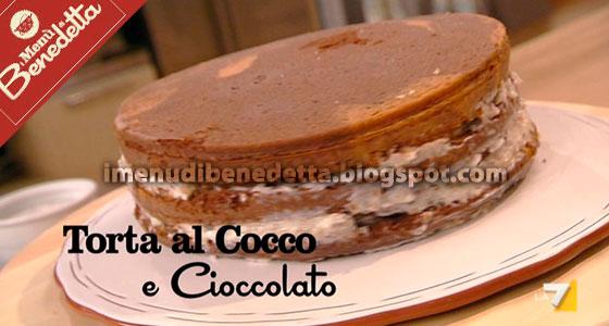 Torta Cocco e Cioccolato di Benedetta Parodi