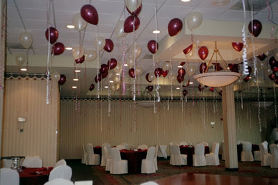 Fashion of life style wedding decoration with balloons for Balloon decoration ideas pinterest