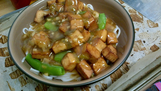 Healthier Version of General Tao Tofu