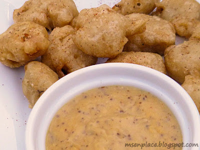 Gator Bites w/ Cheesy Creole Mustard Beer Sauce | Ms. enPlace