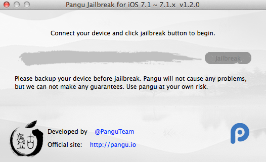 Jailbreak iOS 7.1.2 with pangu. Fix boot loop bug for some iPhone4/4s, Afc2 is included now and more