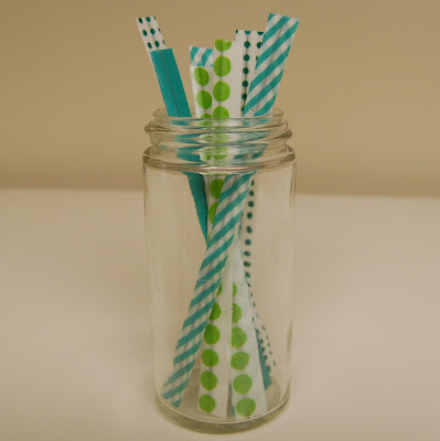 Washi Tape Twisty Ties Project