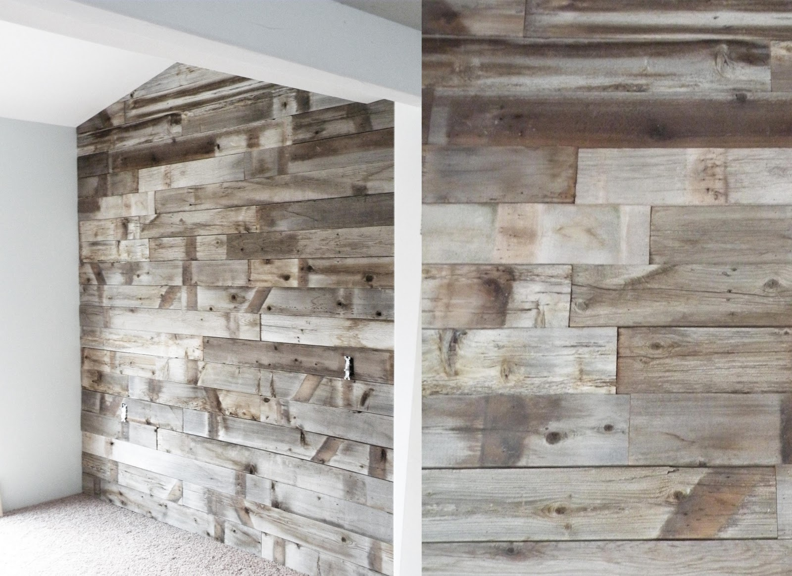 Project 737 barn wood wall for Barnwood plywood