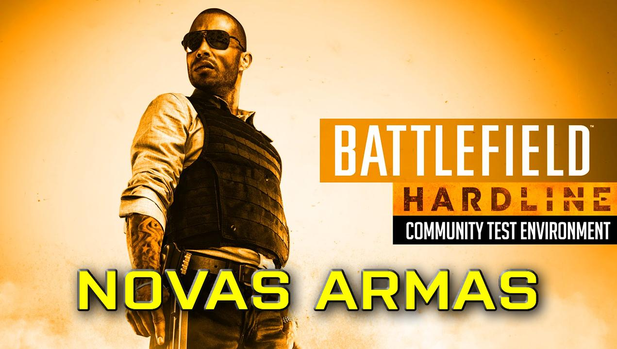 Novas armas, veículo e mapa para Battlefield Hardline