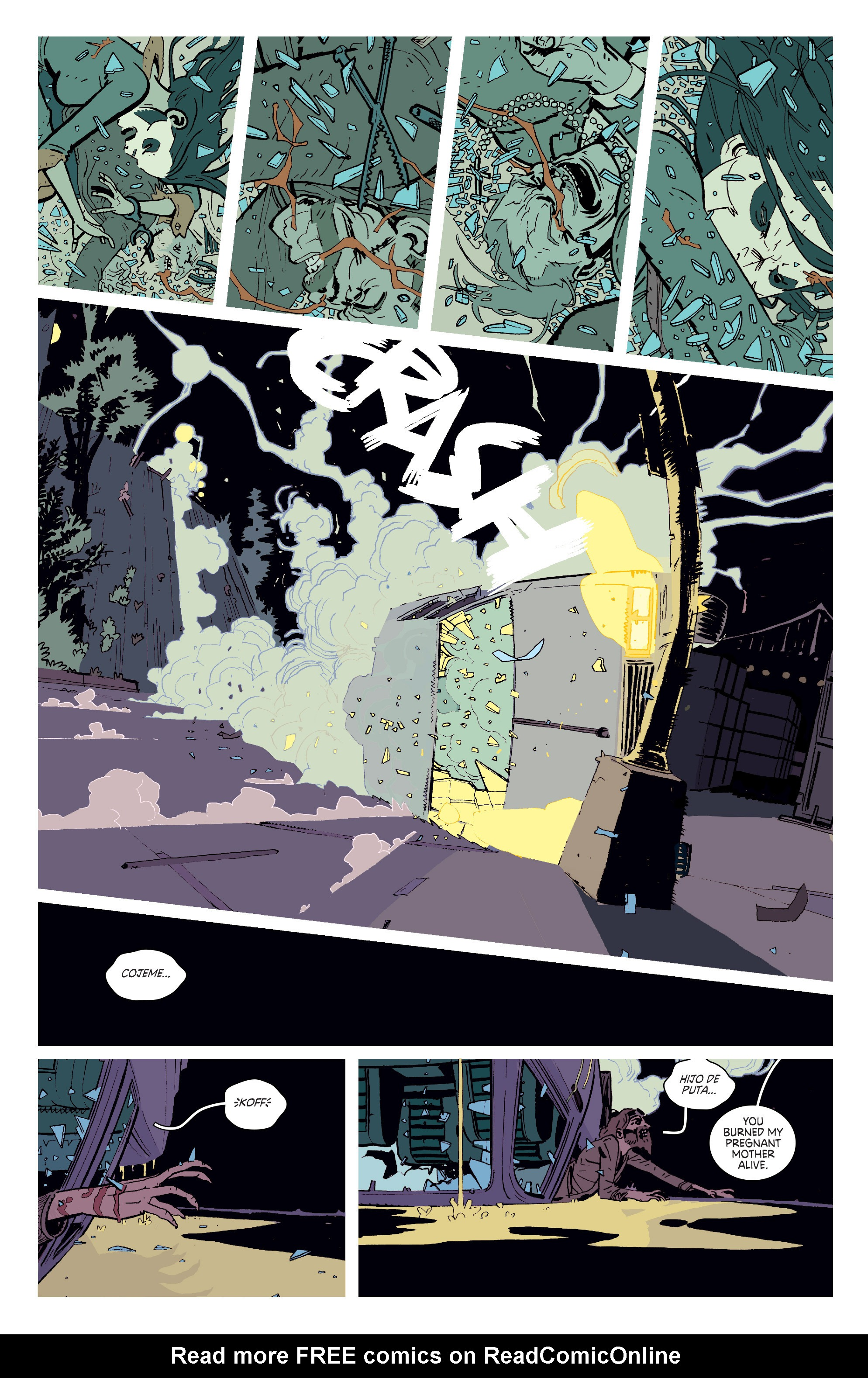 Read online Deadly Class comic -  Issue # _TPB 3 - 36