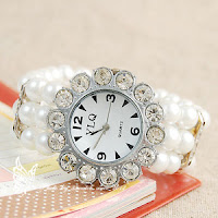 Pearl Bracelet Watches4