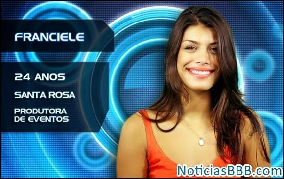 Franciele Almeida do BBB14 - Vídeos, Flagras e Fotos