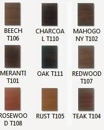 Kemasan warna kayu