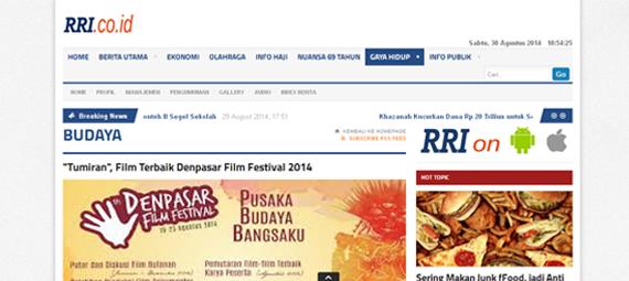 http://www.rri.co.id/post/berita/98988/budaya/tumiran_film_terbaik_denpasar_film_festival_2014.html