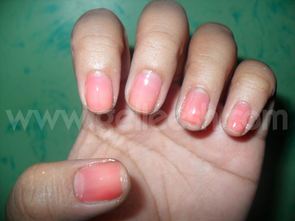 Gelleesh: Cutex Basic Natural Nail Polish