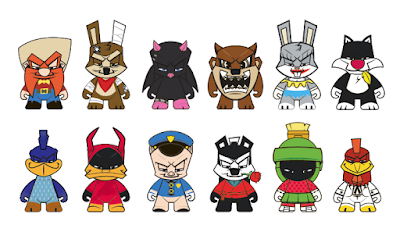 Looney Tunes Blind Box Mini Figure Series by Kidrobot