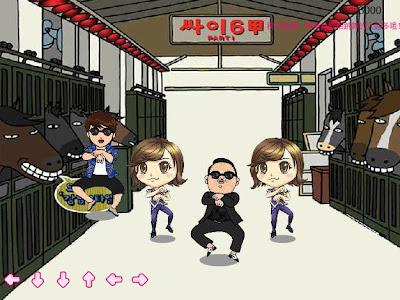 لعبة غانجنام ستايل - Game Gangnam Style