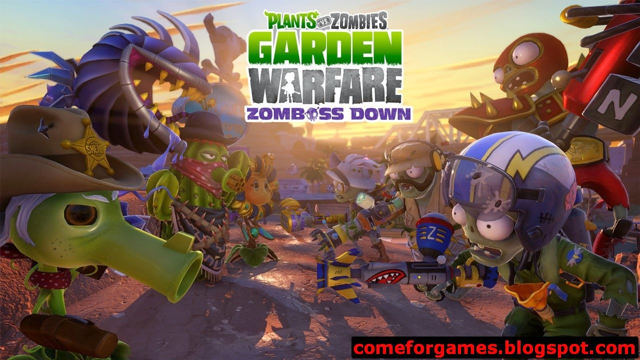 Plants vs zombies garden warfare just games for gamers - Free plants vs zombies garden warfare ...