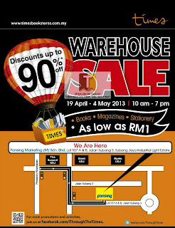 Times Books Warehouse Sale 2013