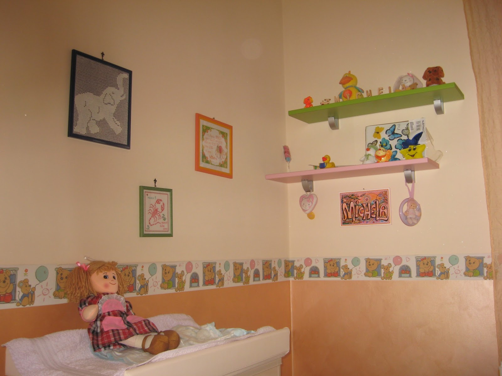 Decorare cameretta fabulous cheap decorare pareti cameretta bambini decorare camerette come - Decorare la cameretta del neonato ...