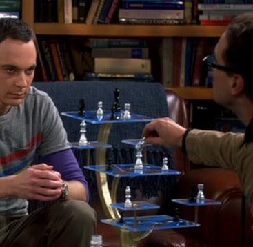 Star Trek Tridimensional Chess Set In The Big Bang Theory The Big