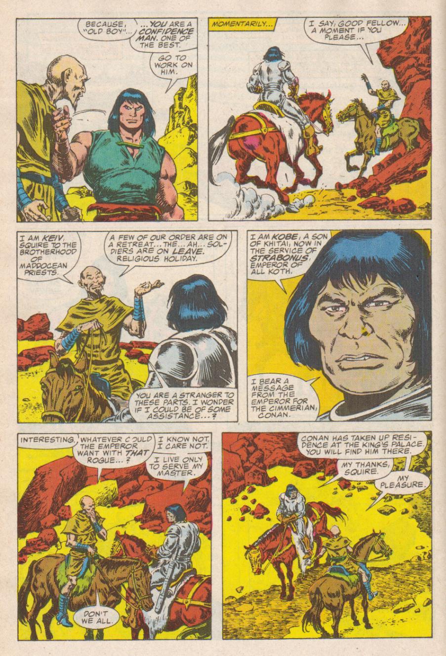 Conan the Barbarian (1970) Issue #190 #202 - English 11