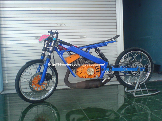 now turn the modification Honda Beat. Still the same berkiblat from ...