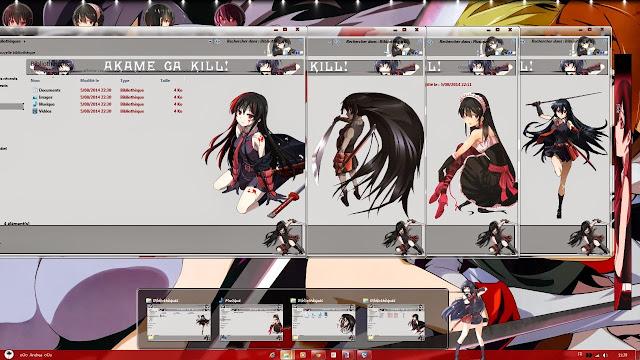 [ Theme Win 7 ] Akame Ga Kill 3