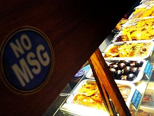 最近はNO MSGと表示してある店も多くなったので助かります最近はNO MSGと表示してある店も多くなったので助かります