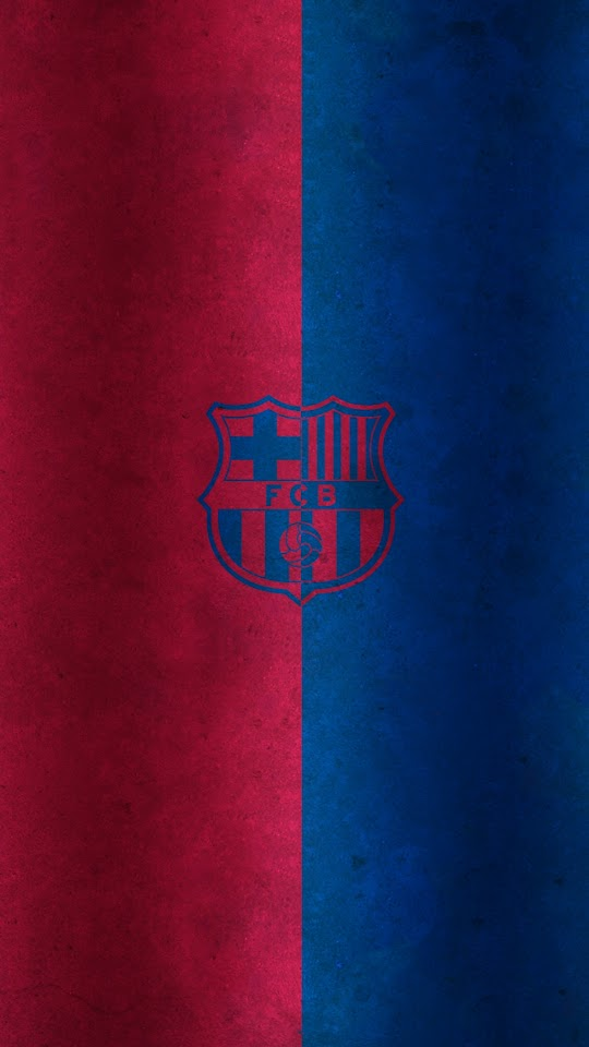 Red and Blue FC Barcelona Logo   Galaxy Note HD Wallpaper