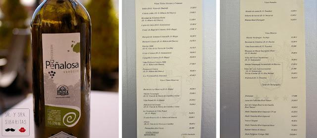 Agora azotea hotel ada palace 12 carta de vinos